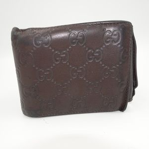 Gucci Tri-Fold Wallet | Brown GG | Authentic